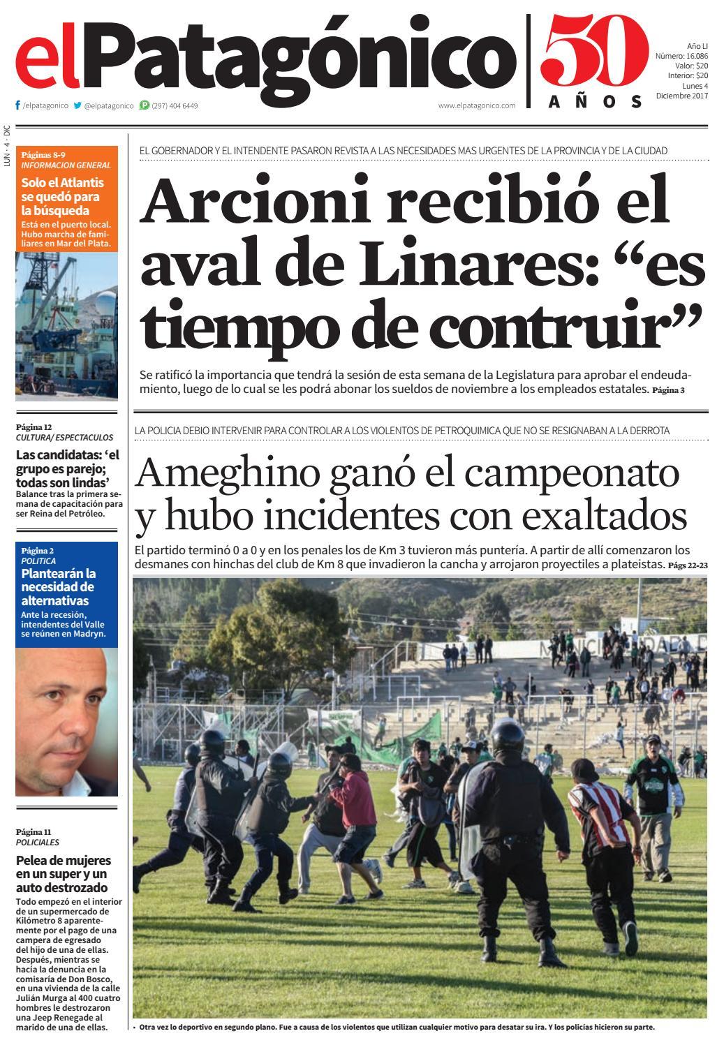 edicion222803122017.pdf by El Patagonico - issuu 8ac2b3a4248e5