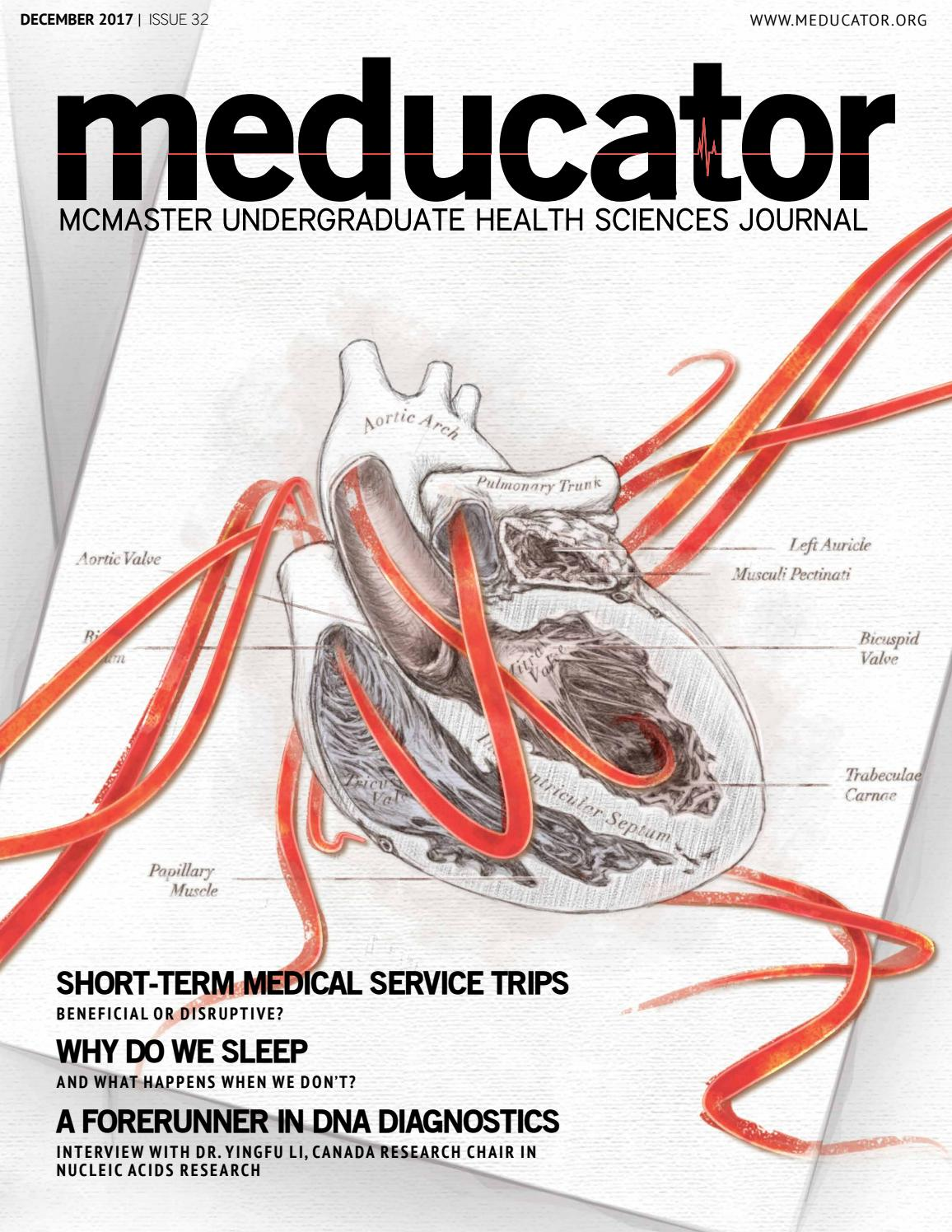 Issue 32 By The Meducator Mcmasters Undergraduate Health Sciences Ge Nurse Call System Wiring Publication Issuu