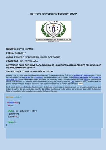 Instituto Tecnológico Superior Sucúa Fundamentos Pto By