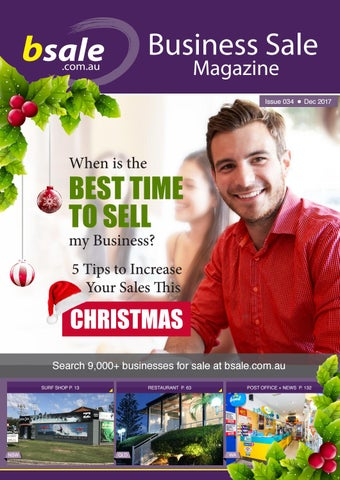 business for sale magazine december 2017 by bsale australia issuu