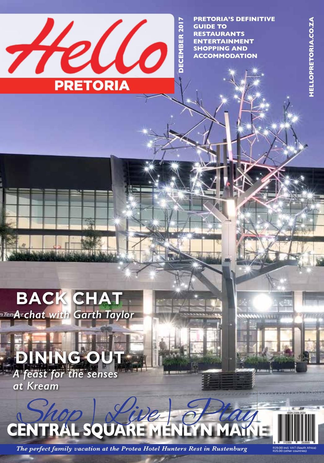 0bd3b48b37 Hello Pretoria December 2017 by SpinnerCom Media - issuu