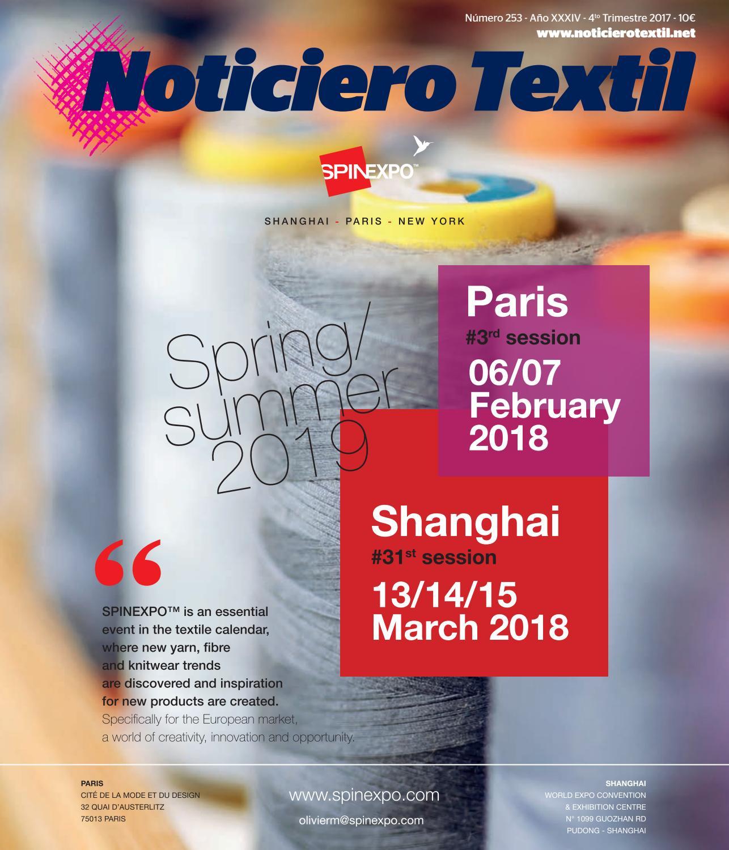 huge selection of e9bde dedd3 Noticiero Textil 253 by Astoria Ediciones - issuu