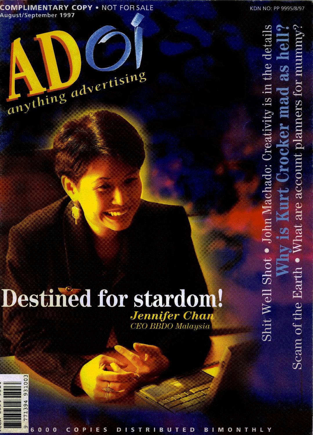 Adoi Malaysia 1997 August September Issue By Sledgehammer Tendencies Tshirt Sun Of Beach Hitam S Communications M Sddn Bhd Issuu