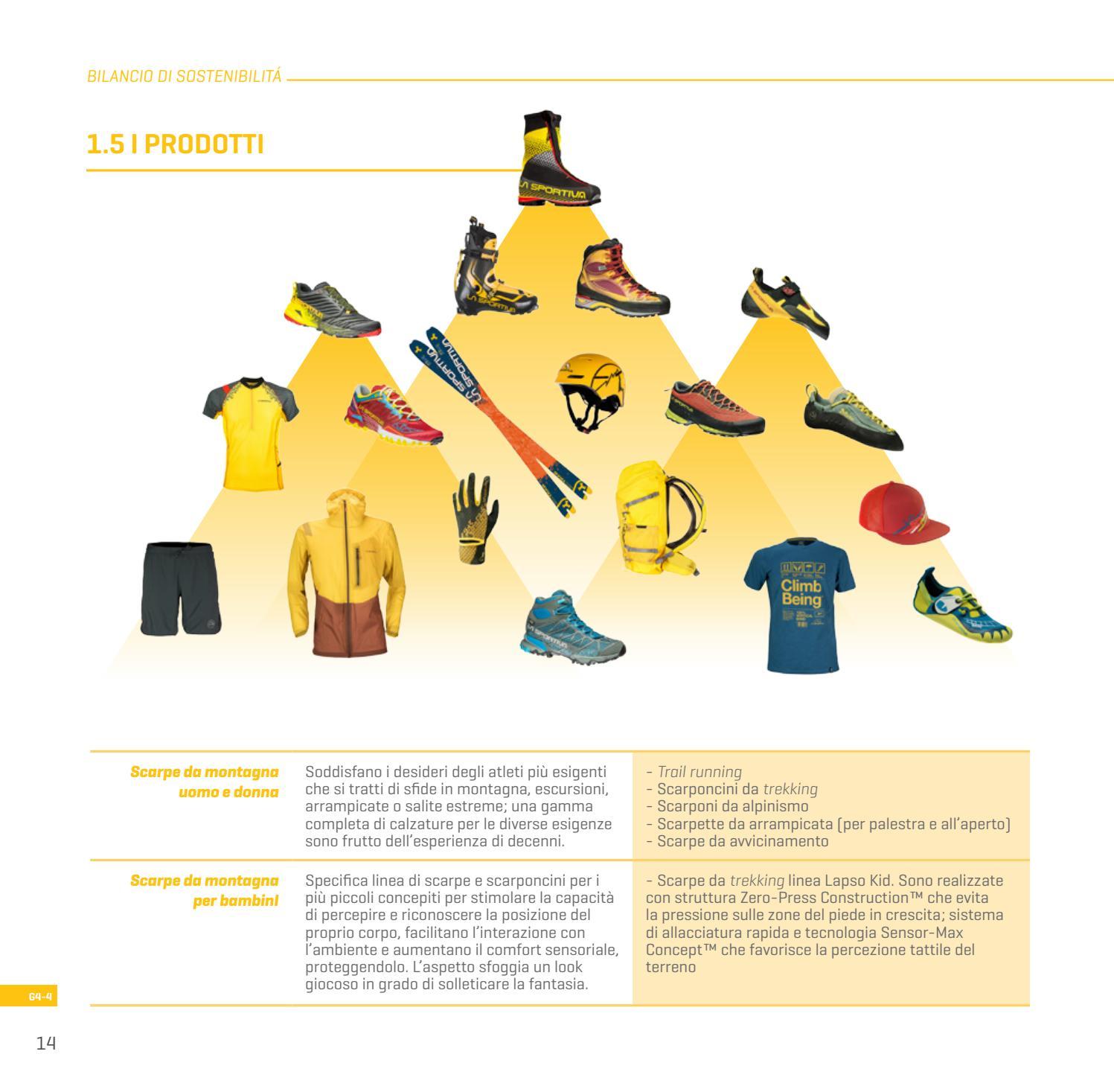 Bilancio di sostenibilità 2016 ITA by La Sportiva issuu