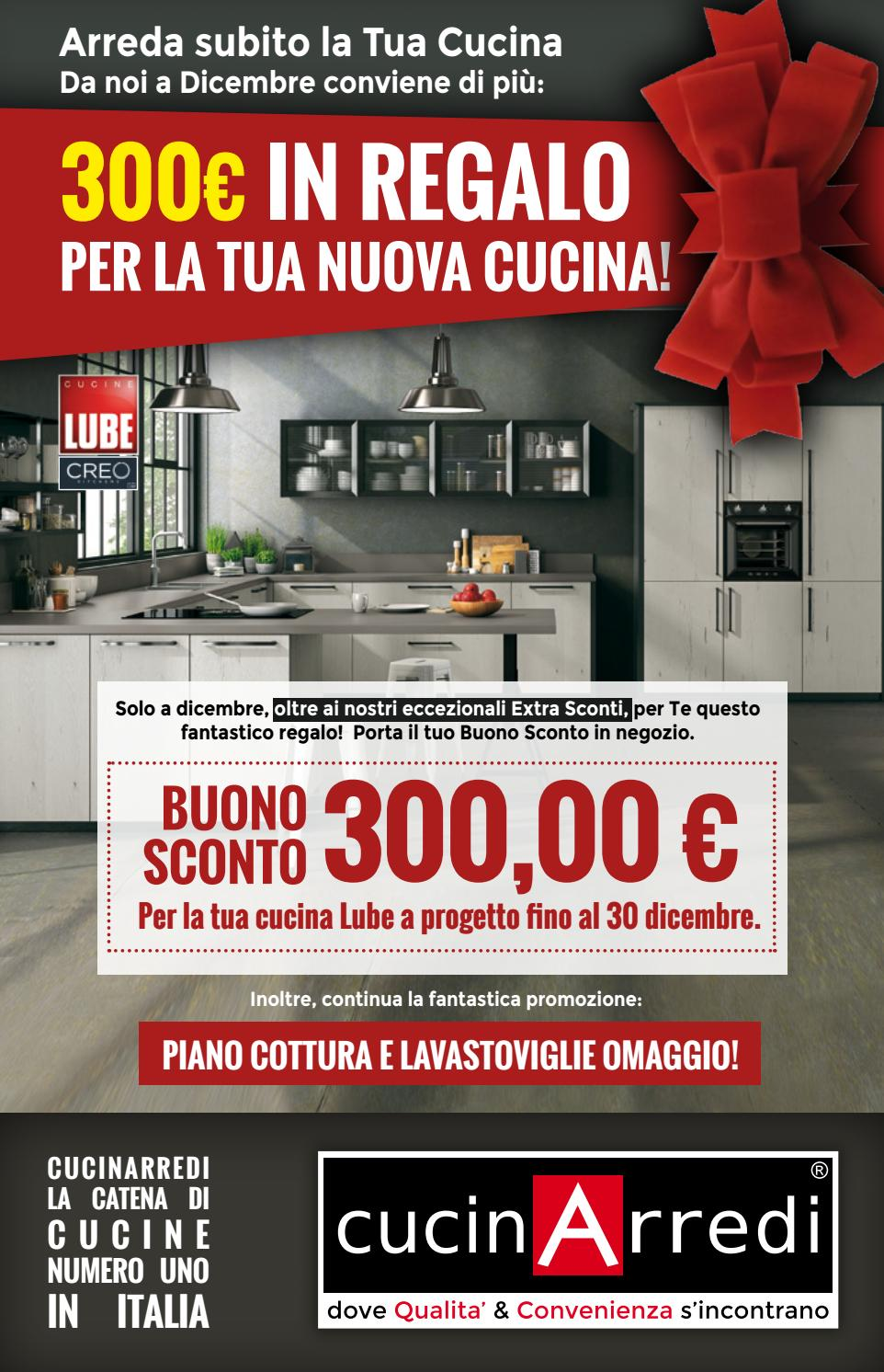 300 in regalo per la tua cucina by cucinarredi issuu for Realizza la tua cucina
