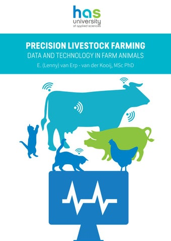 precision livestock farming data and technology in farm