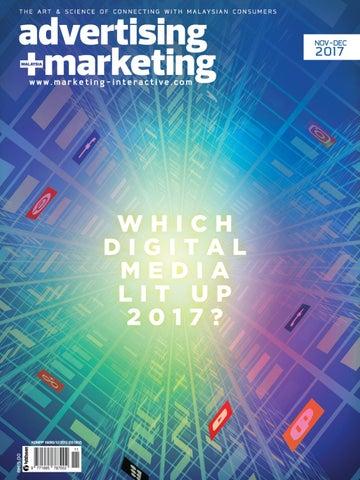 Advertising + Marketing magazine Malaysia, Nov - Dec 2017