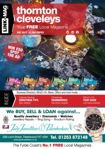 Thornton cleveleys magazine december 2017 by LINK-MAG - issuu
