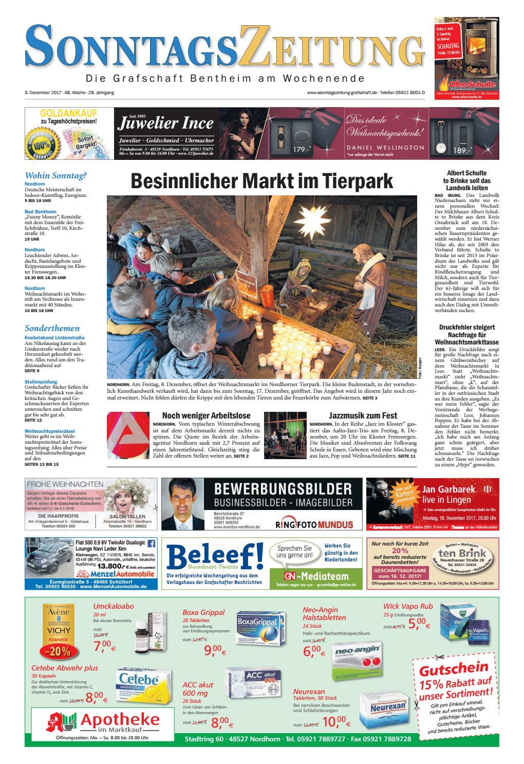 SonntagsZeitung_03-12-2017 by SonntagsZeitung - issuu