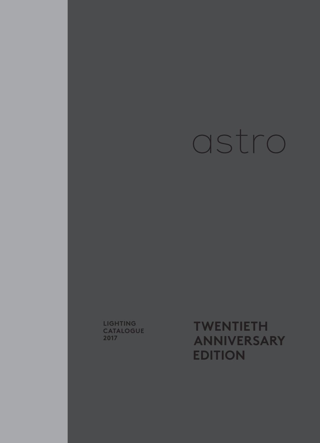 Astro Tapered drum 90 abat-jour noir