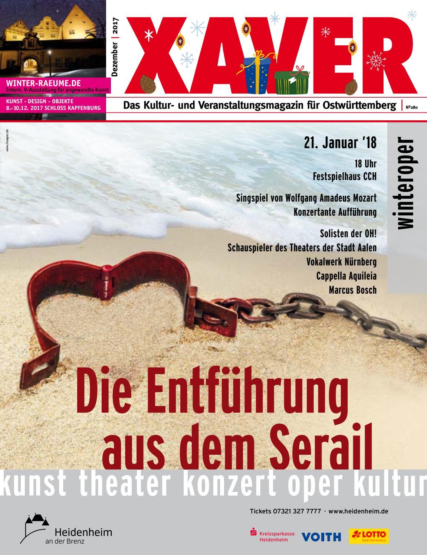 XAVER 12 | 17 by Hariolf Erhardt - issuu