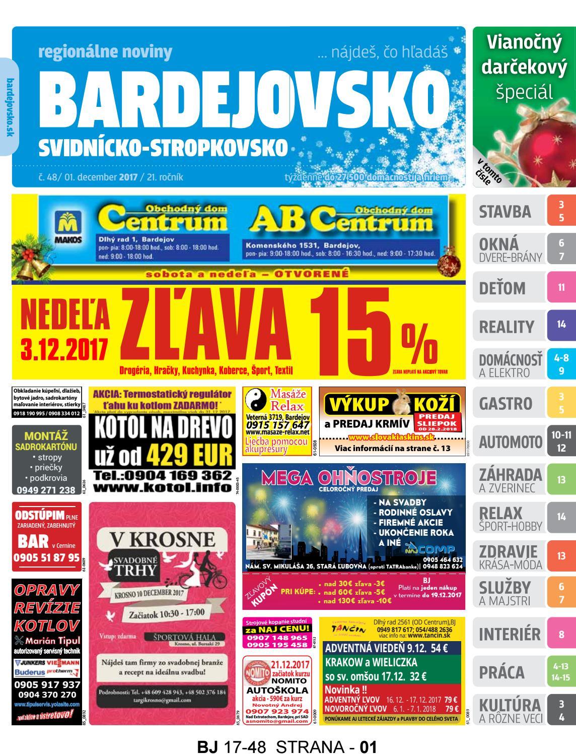 0e9a7165a5a9 Bj1748 by REGIONPRESS - Bardejovsko - issuu