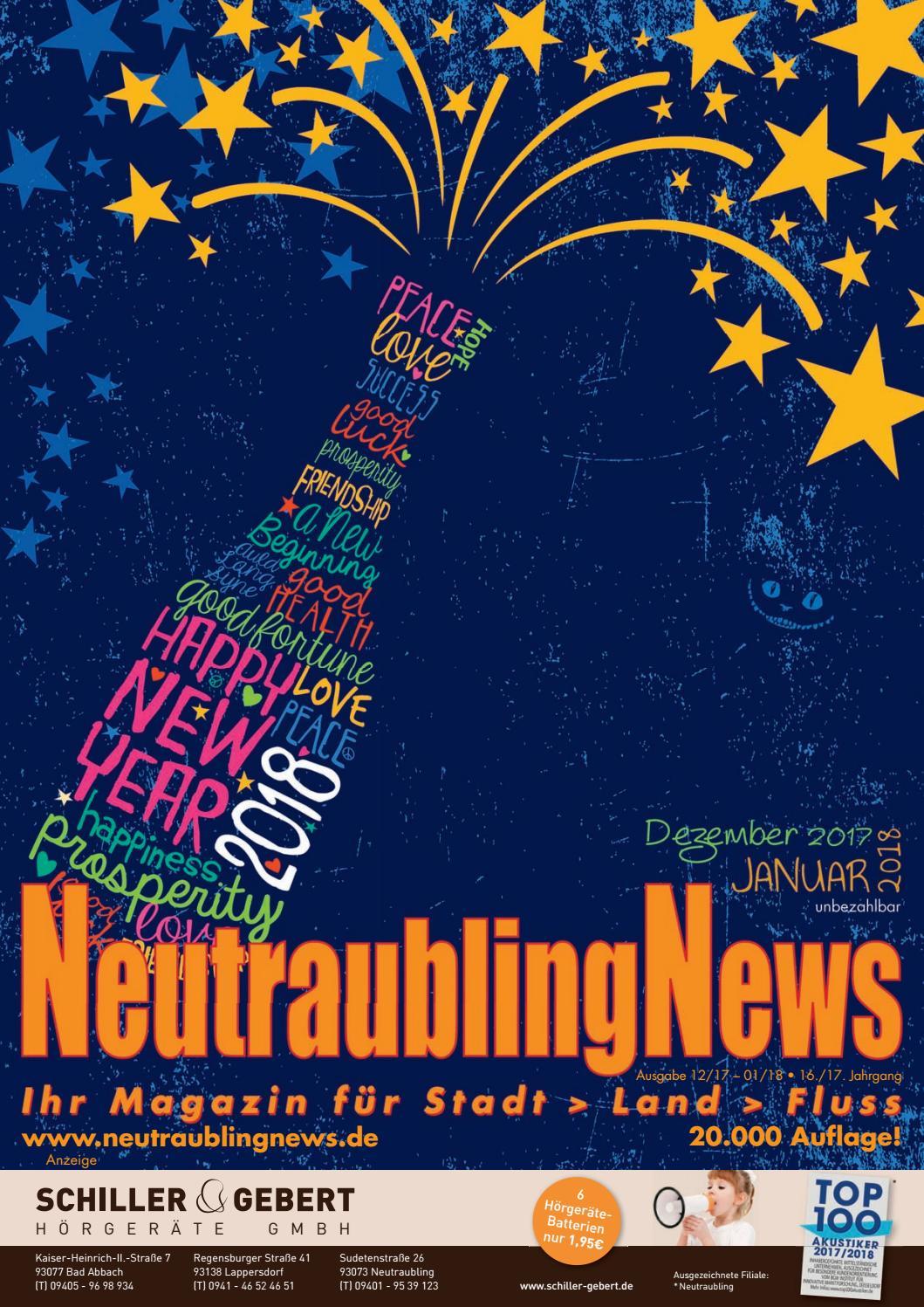NeutraublingNews Dezember 2017 Januar2018 by Schnapp GmbH