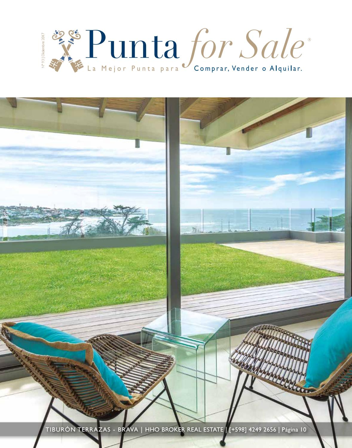 Revista de Real Estate Punta For Sale, edición #93 Diciembre 2017