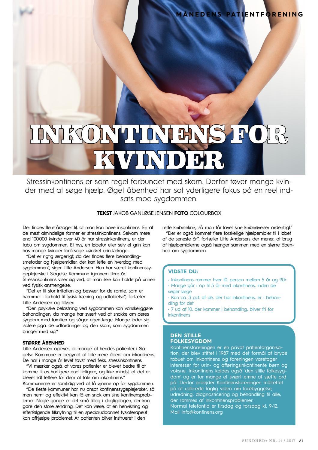 inkontinens forening