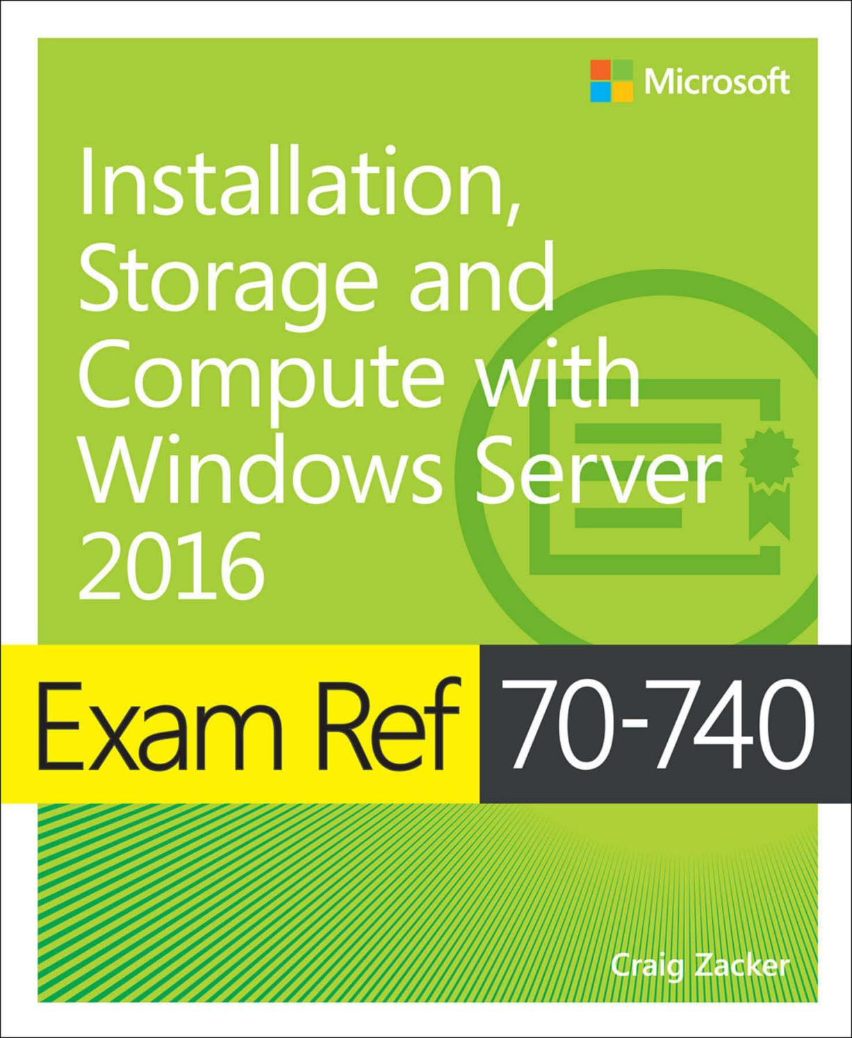 Exam ref 70 740 installation, storage and compute with