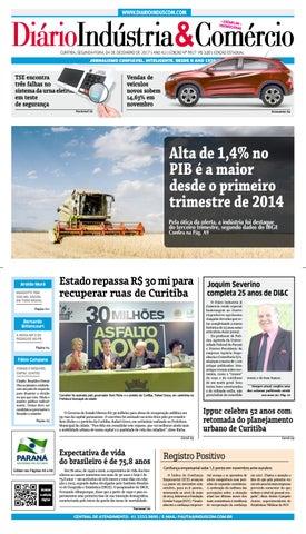 24ef59c134830 Diário Indústria Comércio - 04 de dezembro de 2017 by Diário ...