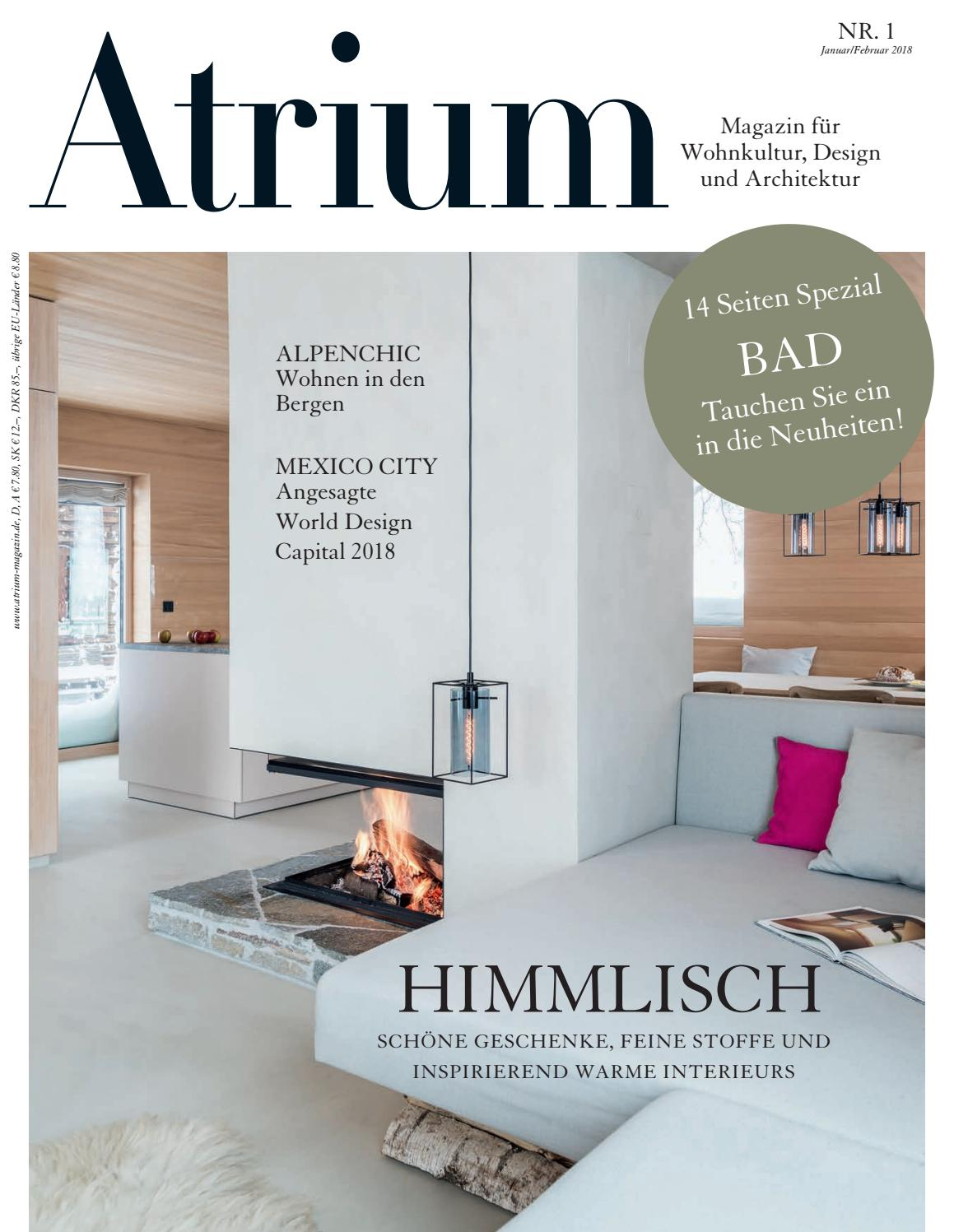 Atrium 01/2018 i by Archithema Verlag - issuu