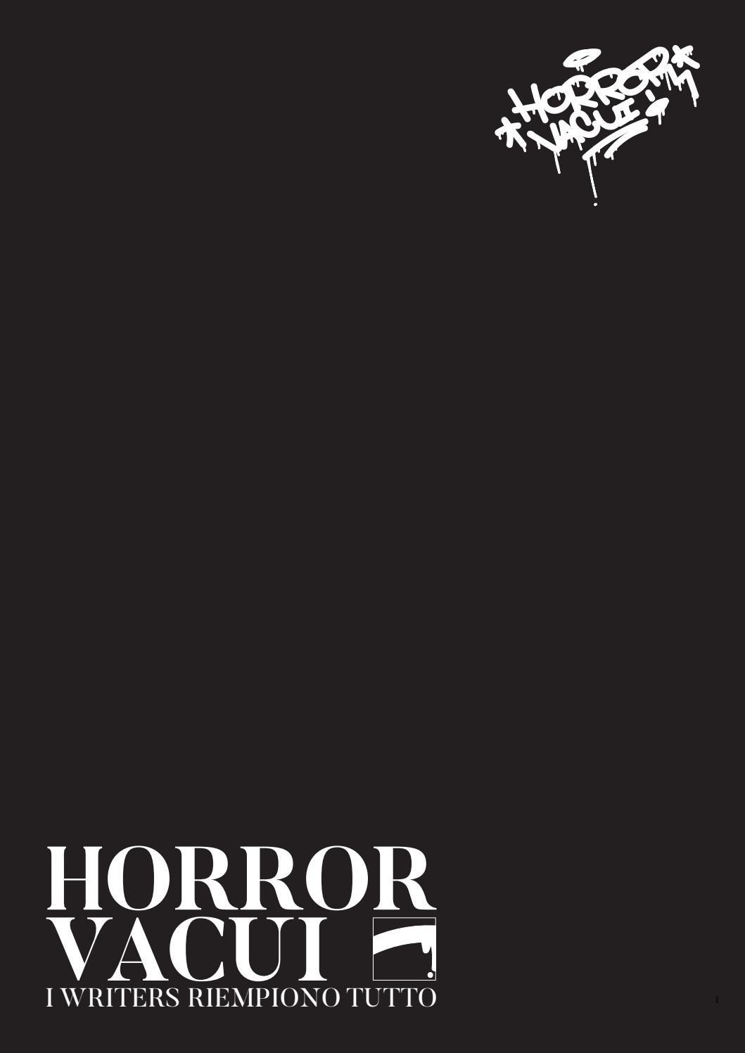 Horror Vacui I Writers Riempiono Tutto By Dino Kapetanovic