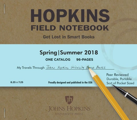 Johns hopkins university seasonal catalog spring 2018 by susan page 1 fandeluxe