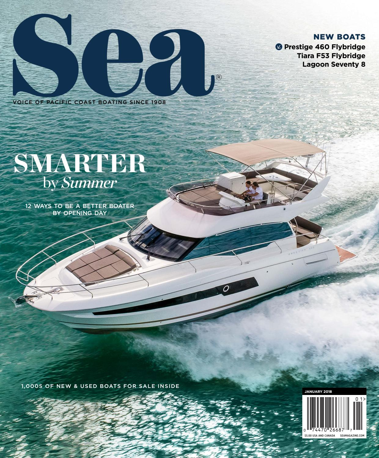 January 2018 Sea Magazine By Duncan Mcintosh Company Issuu Bayliner Capri Volvo Penta Fuel Filter Location