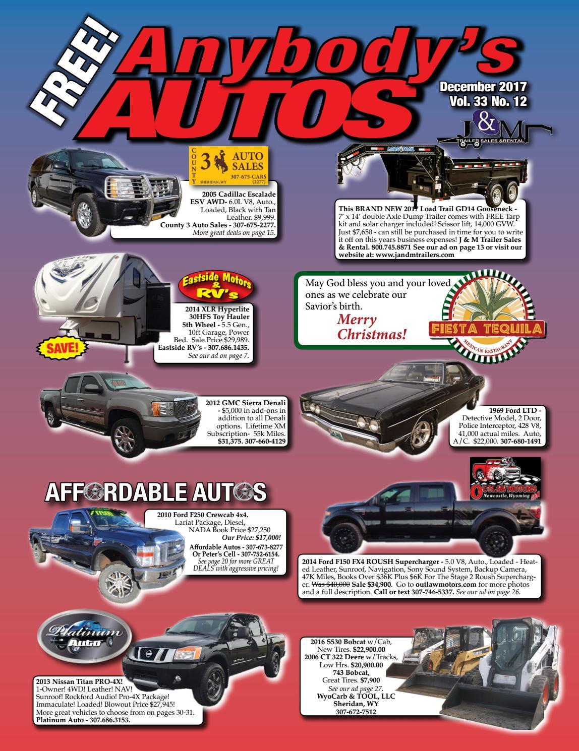 December 2017 By Anybodys Autos Issuu 1969 Ford Highboy 4x4