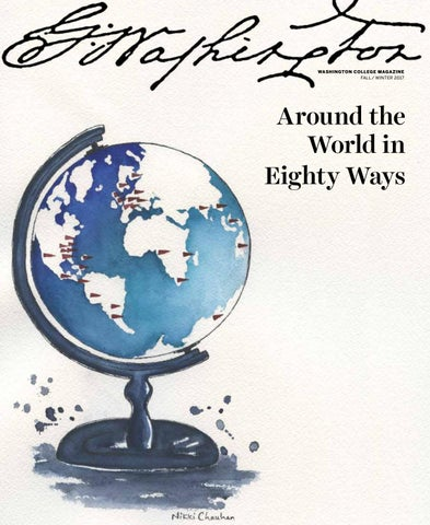 Around The World In Eighty Ways By Washington College Issuu