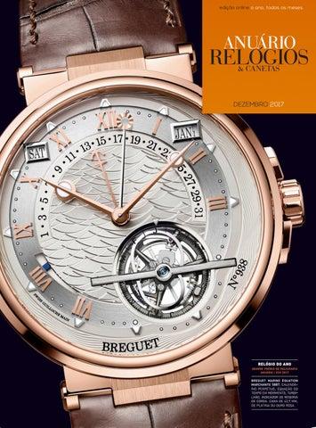 fcc77bf3df0 Anuário Relógios   Canetas - Dezembro 2017 by Anuário Relógios ...