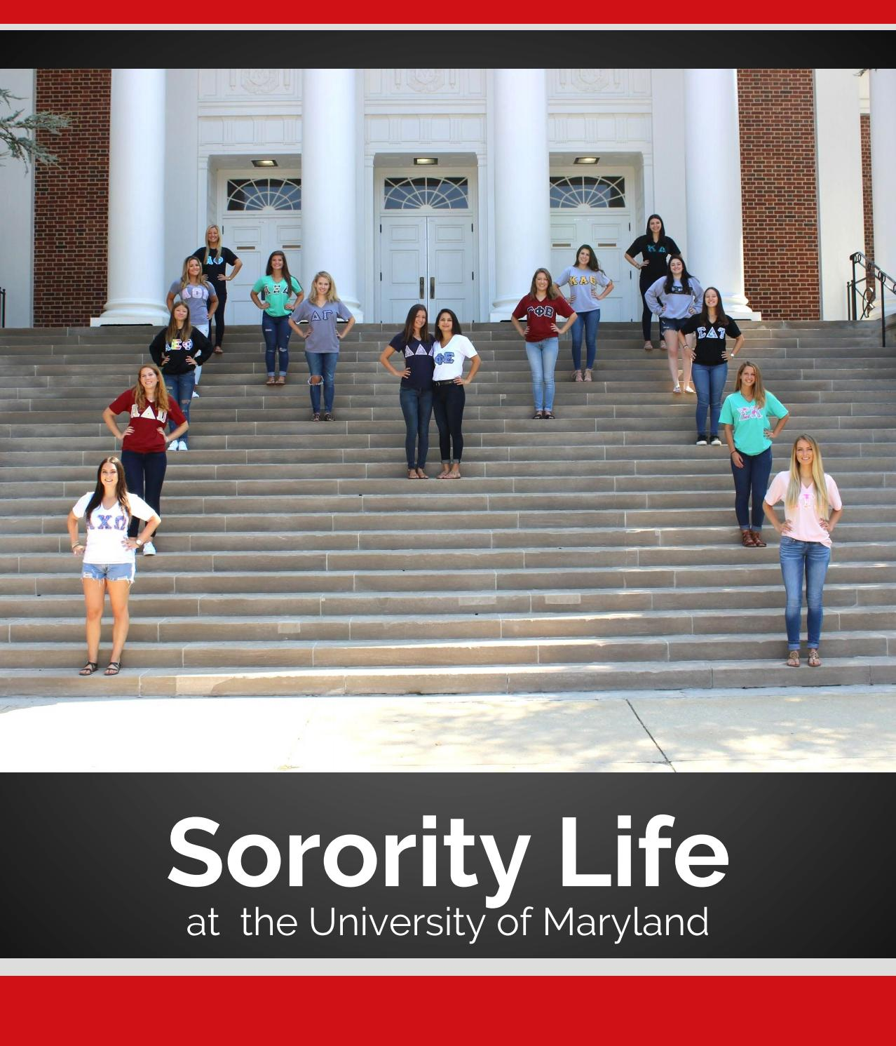 UMD Panhellenic Recruitment Guide by UMD Panhellenic