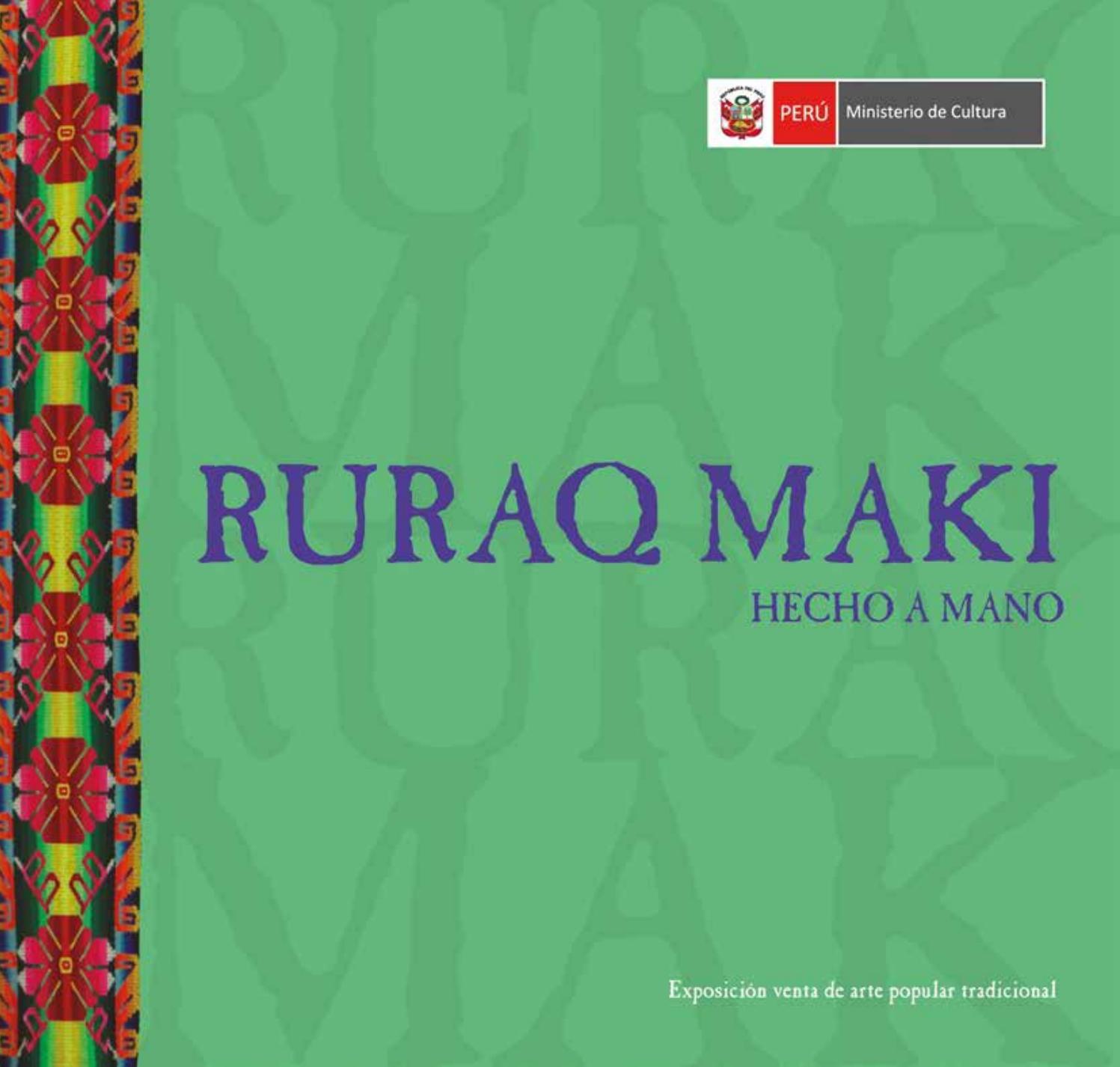 Ruraq Diciembre Issuu Ministerio Cultura By Maki De 2017 eDIE2HYW9