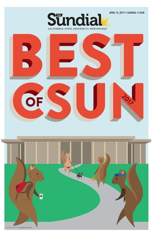 Best Of CSUN 2017 By The Sundial