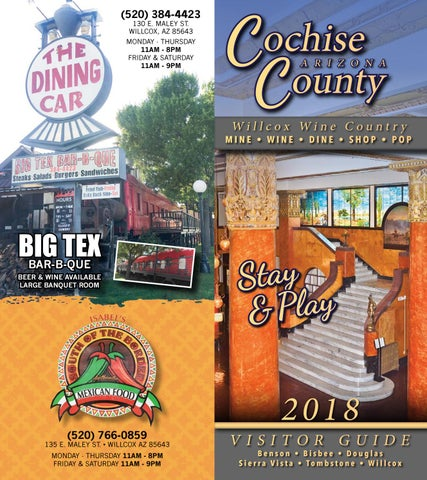 Cochise County Visitor Guide by ROX Media Group - issuu