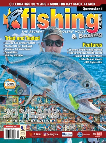 Queensland Fishing Monhly November 2017 by Fishing Monthly