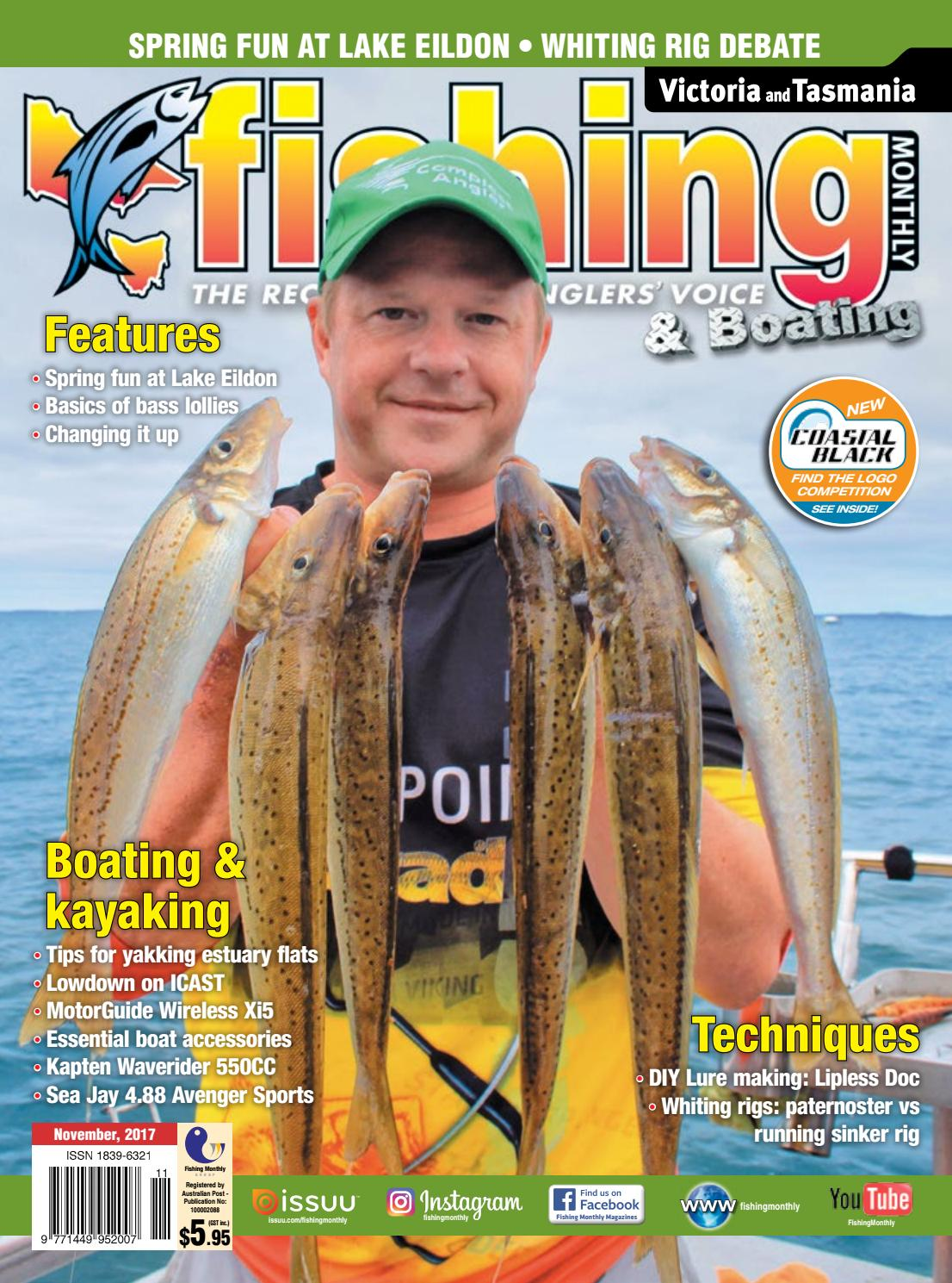 8e41f4c5ef9 Vic Tas Fishing Monthly November 2017 by Fishing Monthly - issuu