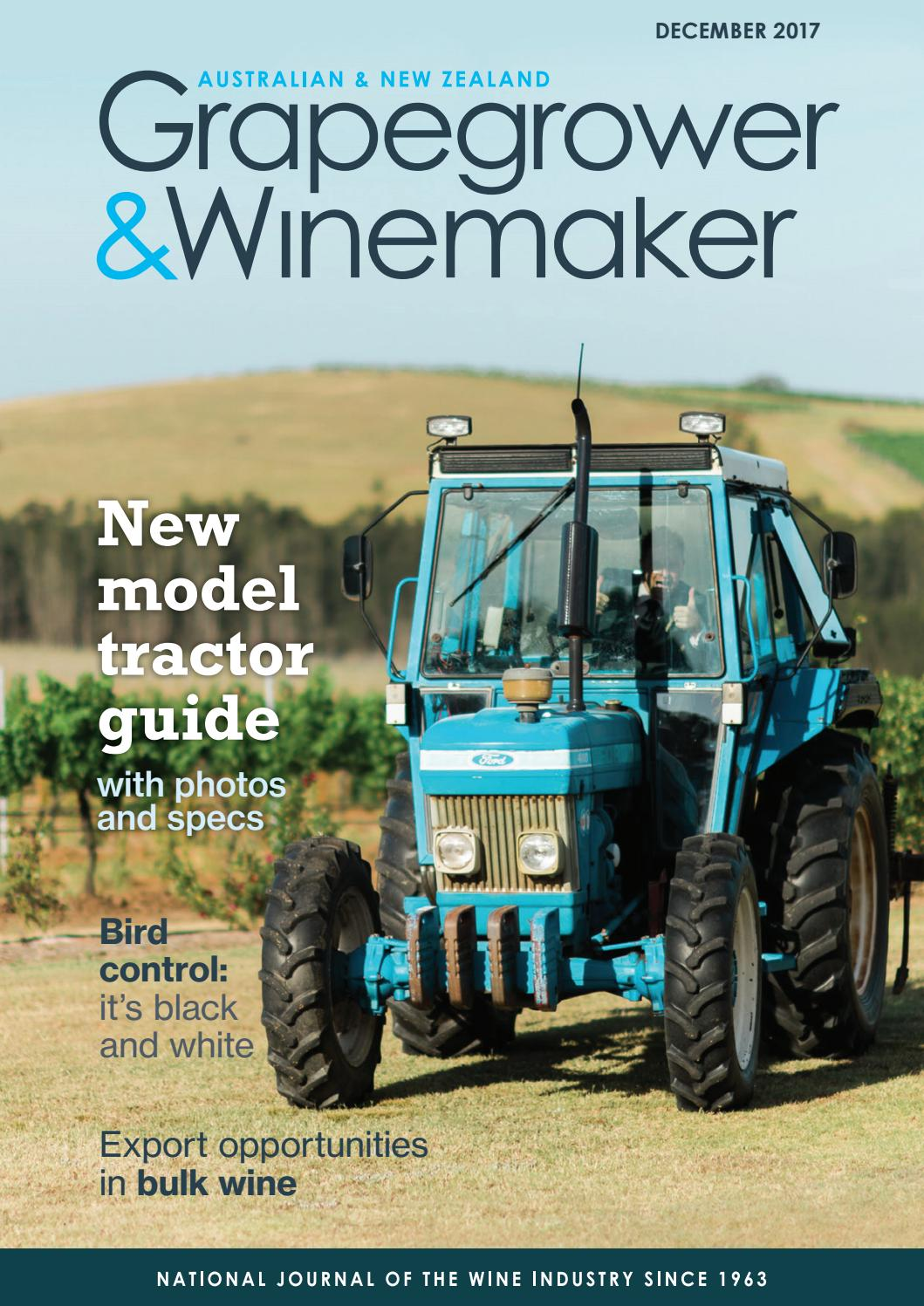 Grapegrower & Winemaker - Issue 647 - December 2017 by provincial press  group - issuu