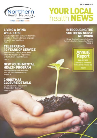 NHN Your Local Health News Vol  26 Nov 2017 by Sonder - issuu