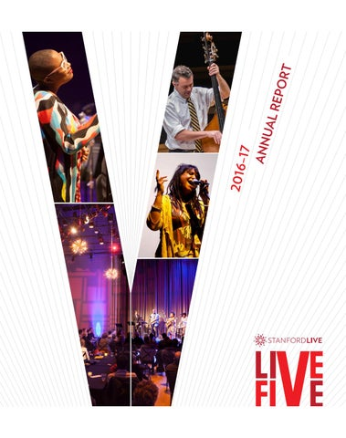 Stanford Live 2016-17 Annual Report