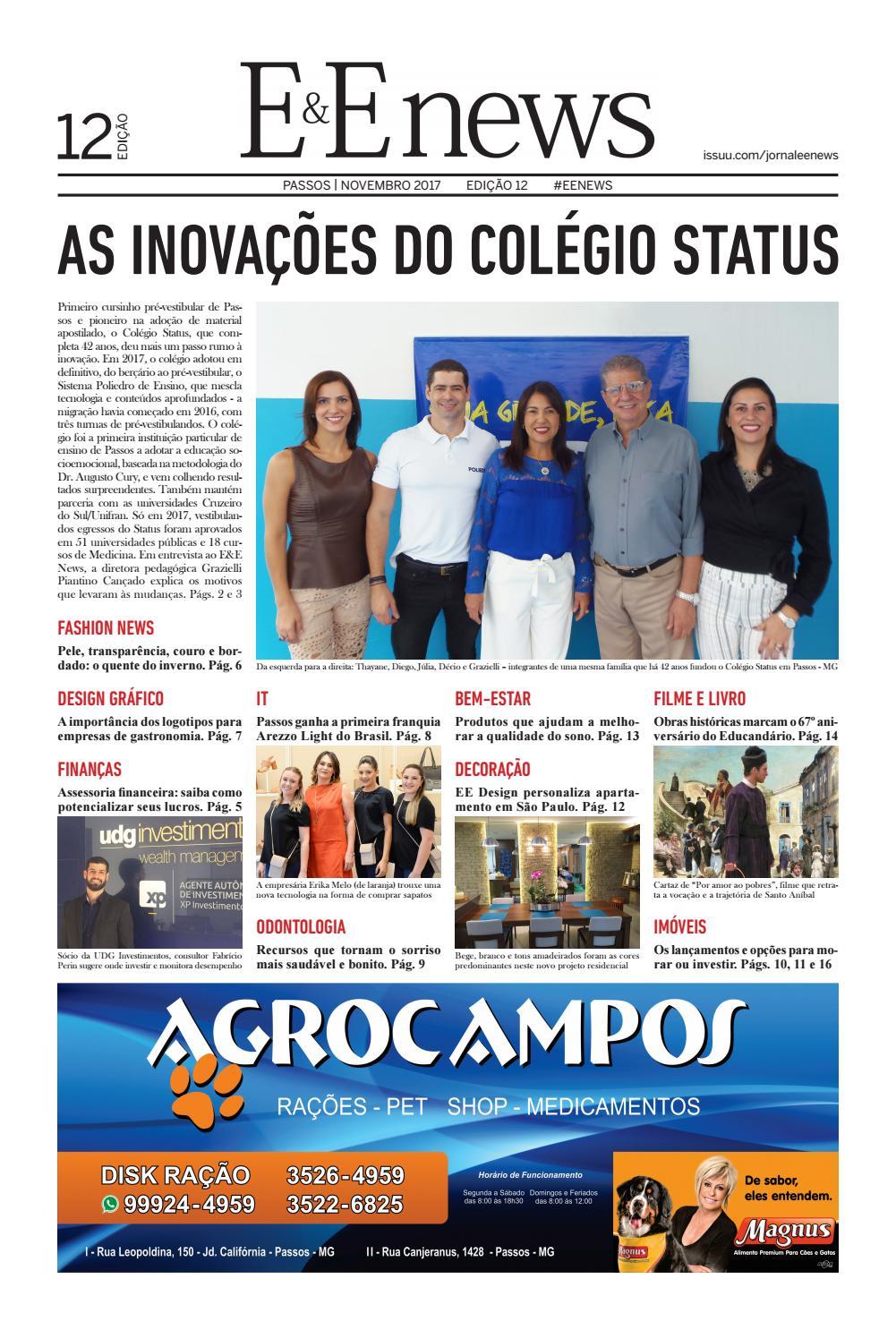 JORNAL E E NEWS EDIÇÃO 12 by JORNAL E E NEWS - issuu d91c6dde6175f