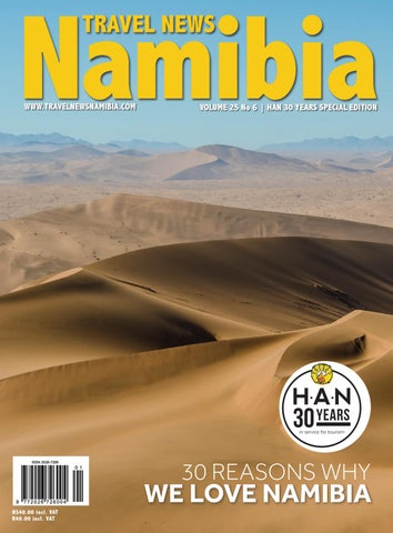 Travel News Namibia HAN Special Edition By Venture Media