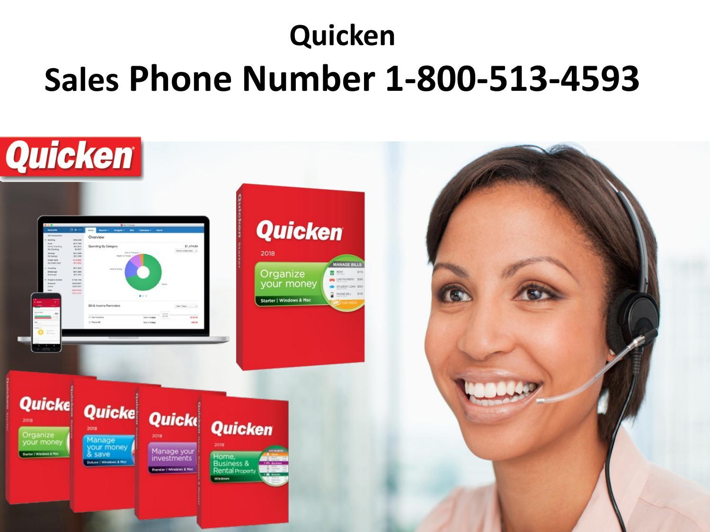 Quicken Sales Phone Number 1-800-513-4593 by Quickensupportnumber - Issuu