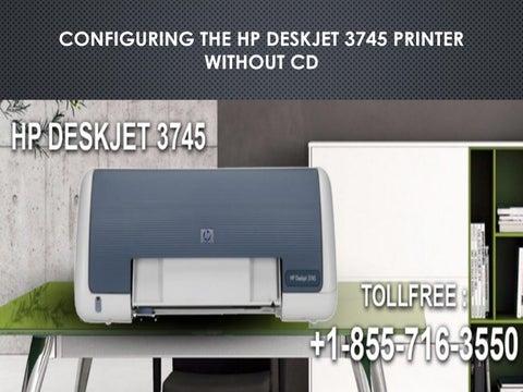 cd hp deskjet 3745
