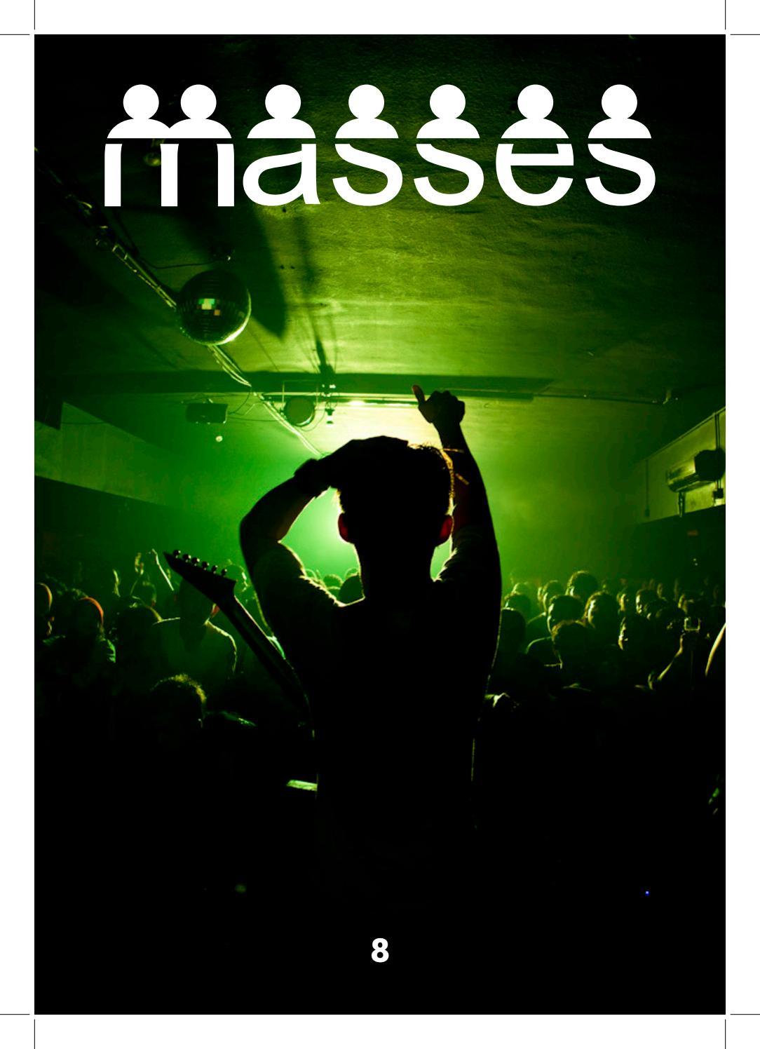 Masseszine No 8 The Rock Issue By Massesmy Issuu