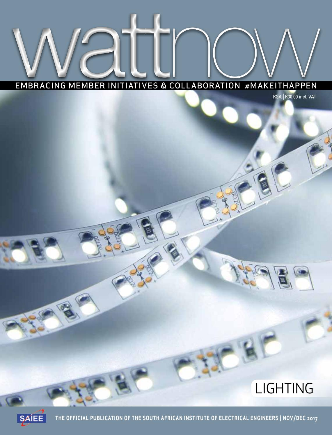 wattnow Nov/Dec 2017 by SAIEE - issuu