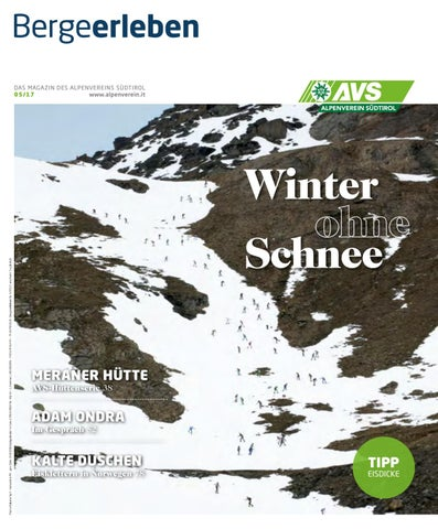 Bergeerleben AVS Magazin November 2017 by Alpenverein