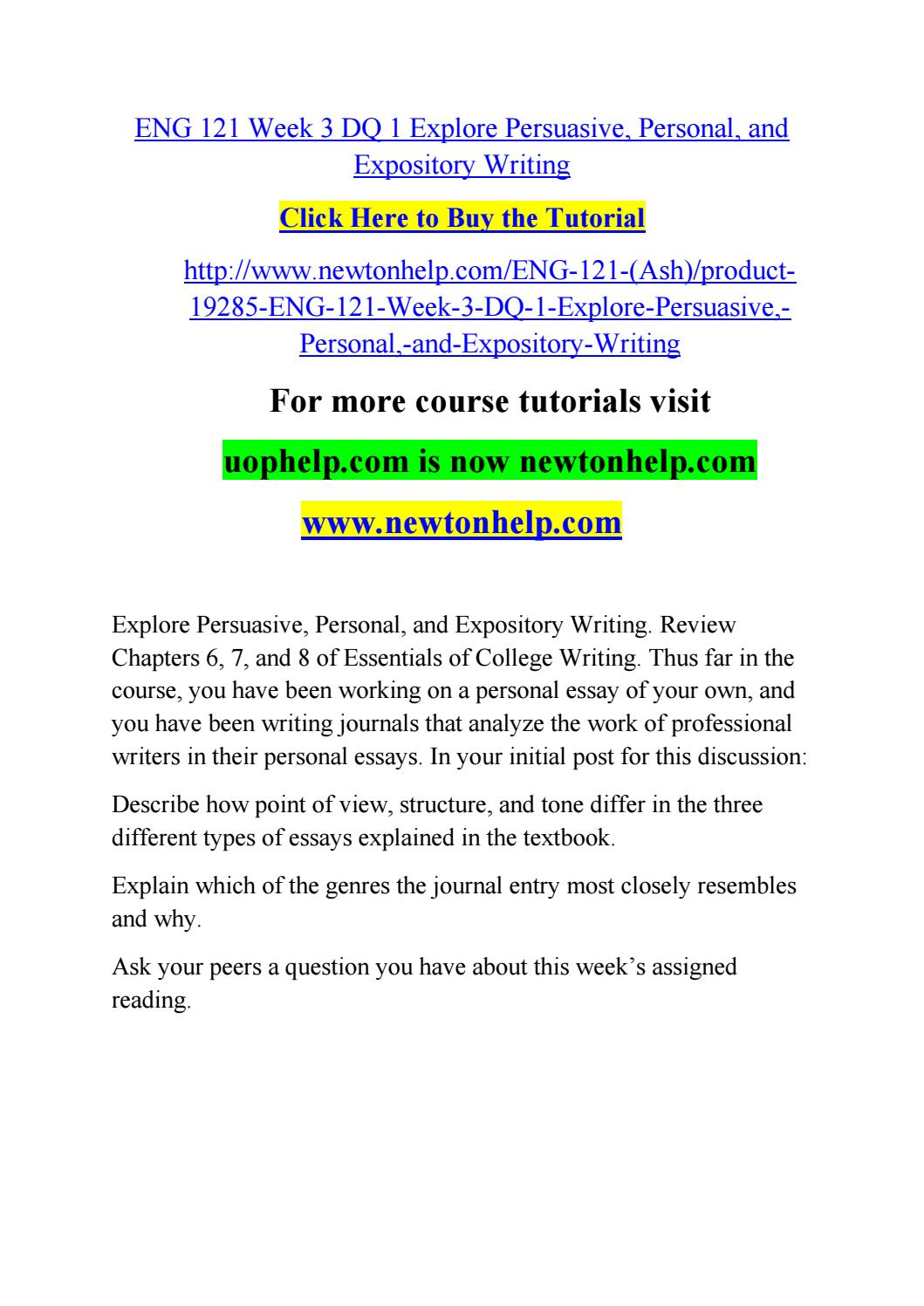 eng 220 week 5 essay Essay example: cjs 220 uop courses/uophelp we will write a custom essay sample  on any topic  specifically for you order now  cjs 220 week 5 dq 1 and dq 2.