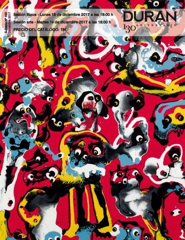 3318269db64a Subasta 550 Martes 19 de Diciembre 2017 Indice de materias Pintura Relojes  de pulsera Joyas Obra gráfica Escultura contemporánea Bronce Arte Tribal  Art ...