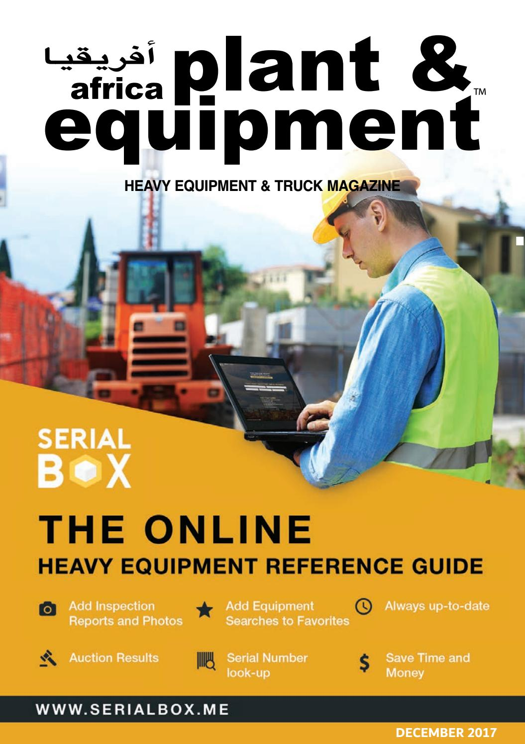 Africa Plant & Equipment - December 2017 Edition by Africa Plant