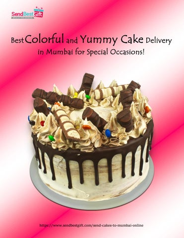 Best Colorful And Yummy Cake Delivery In Mumbai For Special Occasions