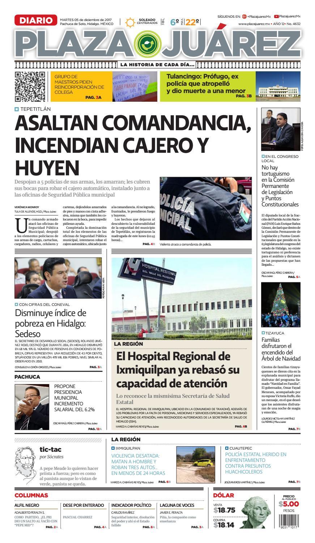05 12 17 by Diario Plaza Juárez - issuu