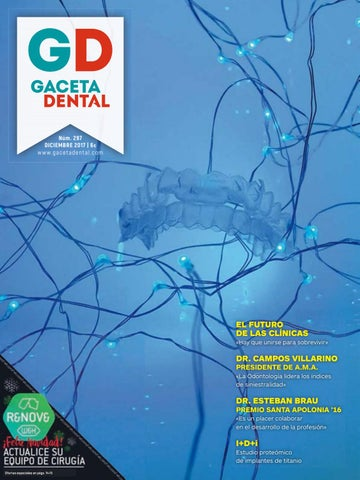 Gaceta Dental - 297 by Peldaño - issuu 0b97a7b2eab8